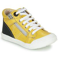 Boty Chlapecké Kotníkové tenisky GBB ANATOLE Žlutá