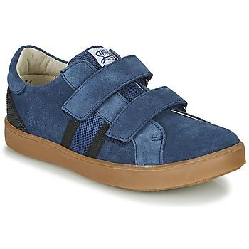 Boty Chlapecké Nízké tenisky GBB AVEDON Modrá