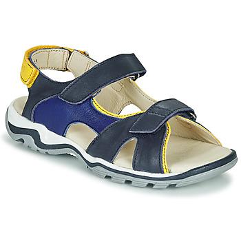 Boty Chlapecké Sandály GBB DIMOU Modrá