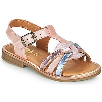 Boty Dívčí Sandály GBB EGEA Růžová