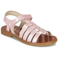 Boty Dívčí Sandály GBB KATAGAMI Růžová