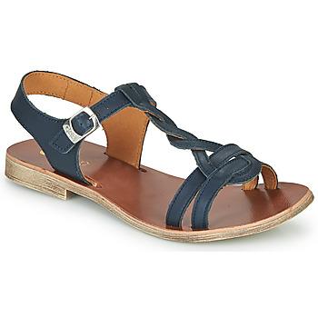 Boty Dívčí Sandály GBB EUGENA Modrá