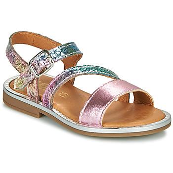 Boty Dívčí Sandály GBB FANA Růžová