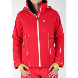 Textil Ženy Větrovky Salomon Whitecliff GTX 374720 red