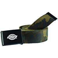Textilní doplňky Muži Pásky Dickies Orcutt  webbing belt Zelená