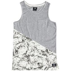 Textil Děti Tílka / Trička bez rukávů  DC Shoes Bloomingtonb b Bílá