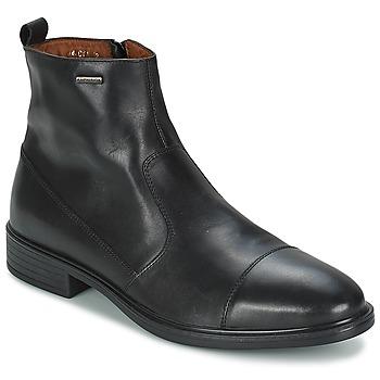 Boty Muži Kotníkové boty Geox LORIS D ABX Černá
