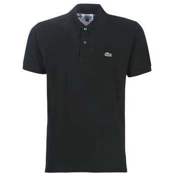 Textil Muži Polo s krátkými rukávy Lacoste POLO L12 12 REGULAR Černá