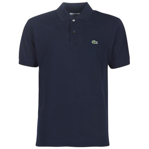 Textil Muži Polo s krátkými rukávy Lacoste POLO L12 12 REGULAR Tmavě modrá