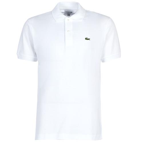 Textil Muži Polo s krátkými rukávy Lacoste POLO L12 12 REGULAR Bílá