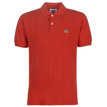 Textil Muži Polo s krátkými rukávy Lacoste POLO L12 12 REGULAR Červená