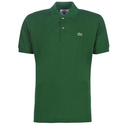 Textil Muži Polo s krátkými rukávy Lacoste POLO L12 12 REGULAR Zelená
