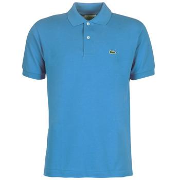 Textil Muži Polo s krátkými rukávy Lacoste POLO L12 12 REGULAR Modrá