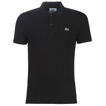 Textil Muži Polo s krátkými rukávy Lacoste PH4012 SLIM Černá