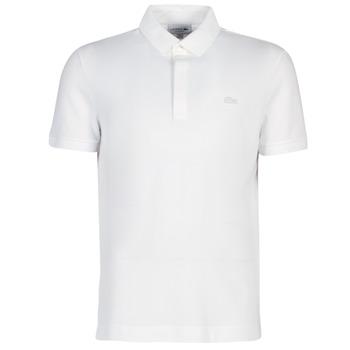 Textil Muži Polo s krátkými rukávy Lacoste PARIS POLO REGULAR Bílá