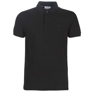 Textil Muži Polo s krátkými rukávy Lacoste PARIS POLO REGULAR Černá