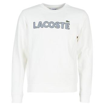Textil Muži Mikiny Lacoste SH8632 Bílá