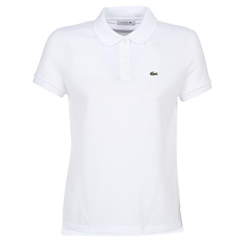 Textil Ženy Polo s krátkými rukávy Lacoste PF7839 Bílá