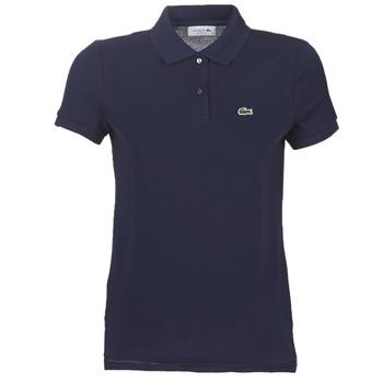 Textil Ženy Polo s krátkými rukávy Lacoste PF7839 Tmavě modrá