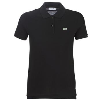 Textil Ženy Polo s krátkými rukávy Lacoste PF7839 Černá