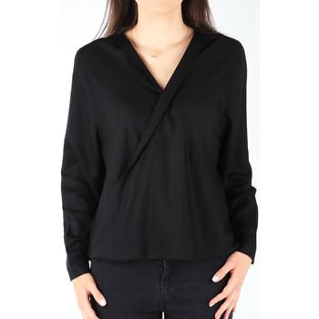 Textil Ženy Košile / Halenky Wrangler L/S Wrap Shirt Black W5180BD01 black