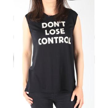 Textil Ženy Tílka / Trička bez rukávů  Lee T-shirt  Muscle Tank Black L42CPB01 black