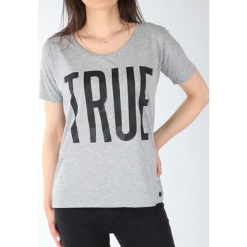 Textil Ženy Trička s krátkým rukávem Lee T-shirt  Ultimate Tee L42JEP37 grey