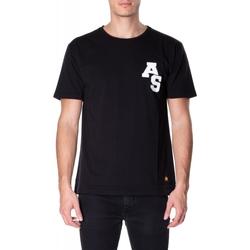 Textil Muži Trička s krátkým rukávem Atlantic Star Apparel T-SHIRT col-5-nero