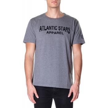 Textil Muži Trička s krátkým rukávem Atlantic Star Apparel T-SHIRT col-2-grigio-chiaro