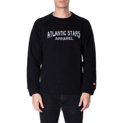 Textil Muži Mikiny Atlantic Star Apparel FELPA col-3-nero