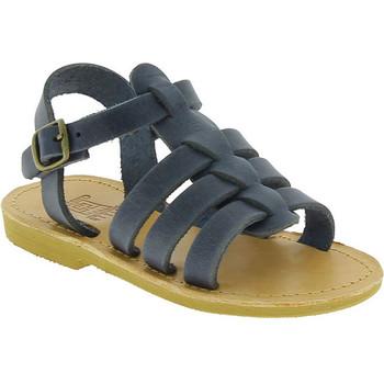 Boty Chlapecké Sandály Attica Sandals PERSEPHONE NUBUCK BLUE blu