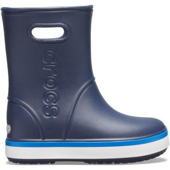 Boty Děti Holínky Crocs™ Crocs™ Crocband Rain Boot Kid's Navy/Bright Cobalt