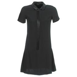 Textil Ženy Krátké šaty Ikks BIGU Černá