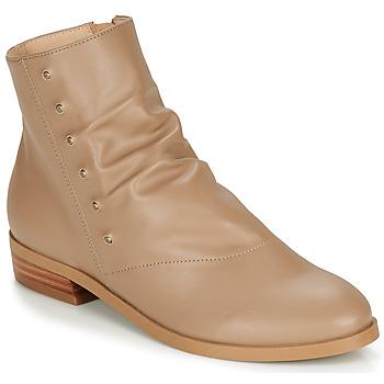 Boty Ženy Kotníkové boty André ELIPSE Velbloudí hnědá