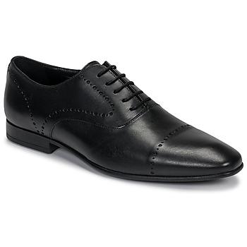 Boty Muži Šněrovací společenská obuv André CURTIS Černá