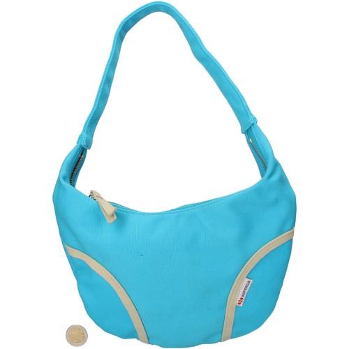 Taška Ženy Velké kabelky / Nákupní tašky Superga celeste tela AF679 Blu