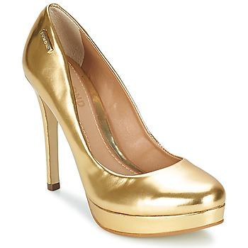 Boty Ženy Lodičky Dumond MIRROURO Zlatá