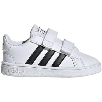 Boty Děti Nízké tenisky adidas Originals Grand Court I Bílá