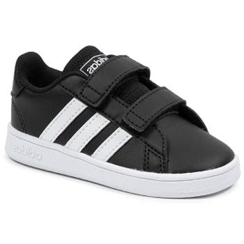 Boty Děti Nízké tenisky adidas Originals Grand Court I Černá