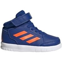 Boty Děti Kotníkové tenisky adidas Originals Altasport Mid EL I Modré