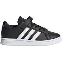 Boty Děti Nízké tenisky adidas Originals Grand Court C Černá