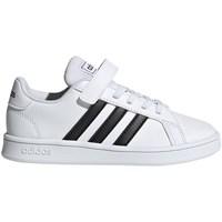 Boty Děti Nízké tenisky adidas Originals Grand Court C Bílá