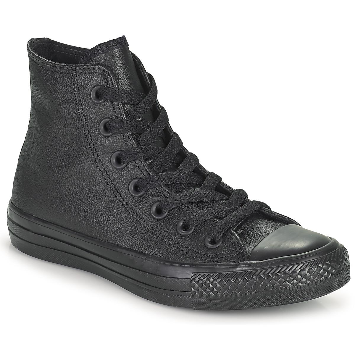 Boty Kotníkové tenisky Converse CHUCK TAYLOR ALL STAR MONO HI Černá 1c3556322d
