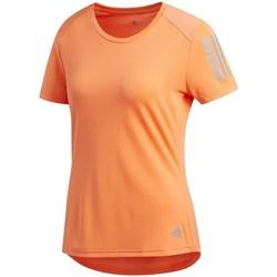 Textil Ženy Trička s krátkým rukávem adidas Originals Own The Run Tee Oranžová