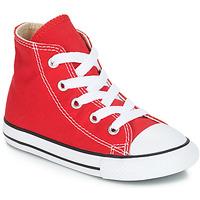 Boty Děti Kotníkové tenisky Converse CHUCK TAYLOR ALL STAR CORE HI Červená