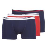 Spodní prádlo  Muži Boxerky DIM DAILY COLORS BOXER x3 Modrá / Červená