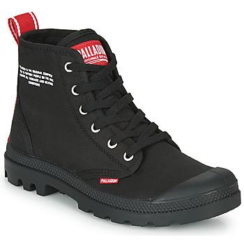 Boty Kotníkové boty Palladium PAMPA HI DU C Černá