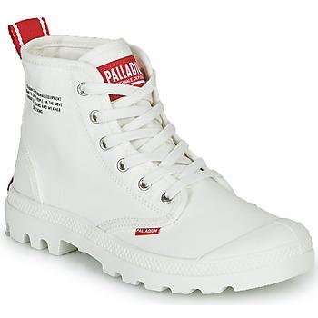 Boty Kotníkové boty Palladium PAMPA HI DU C Bílá
