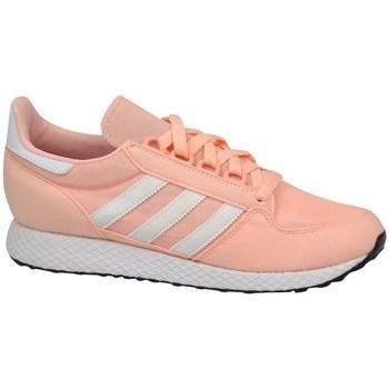 adidas Tenisky Dětské Forest Grove J - Růžová