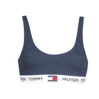 Spodní prádlo  Ženy Sportovní podprsenky Tommy Hilfiger ORGANIC COTTON Tmavě modrá